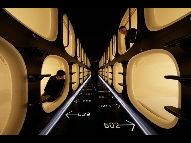 Nine Hours Shinjuku-North Capsule Hotel