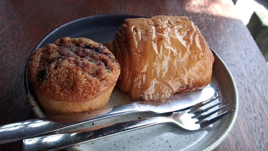 Pastries at Ritual Cofffe Shop Seminyak