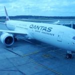 Qantas Flight QF9 Melbourne to Perth