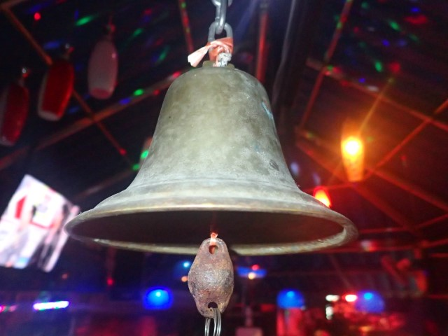 Ring the bell at Little Pattaya Nightlife Area Koh Chang