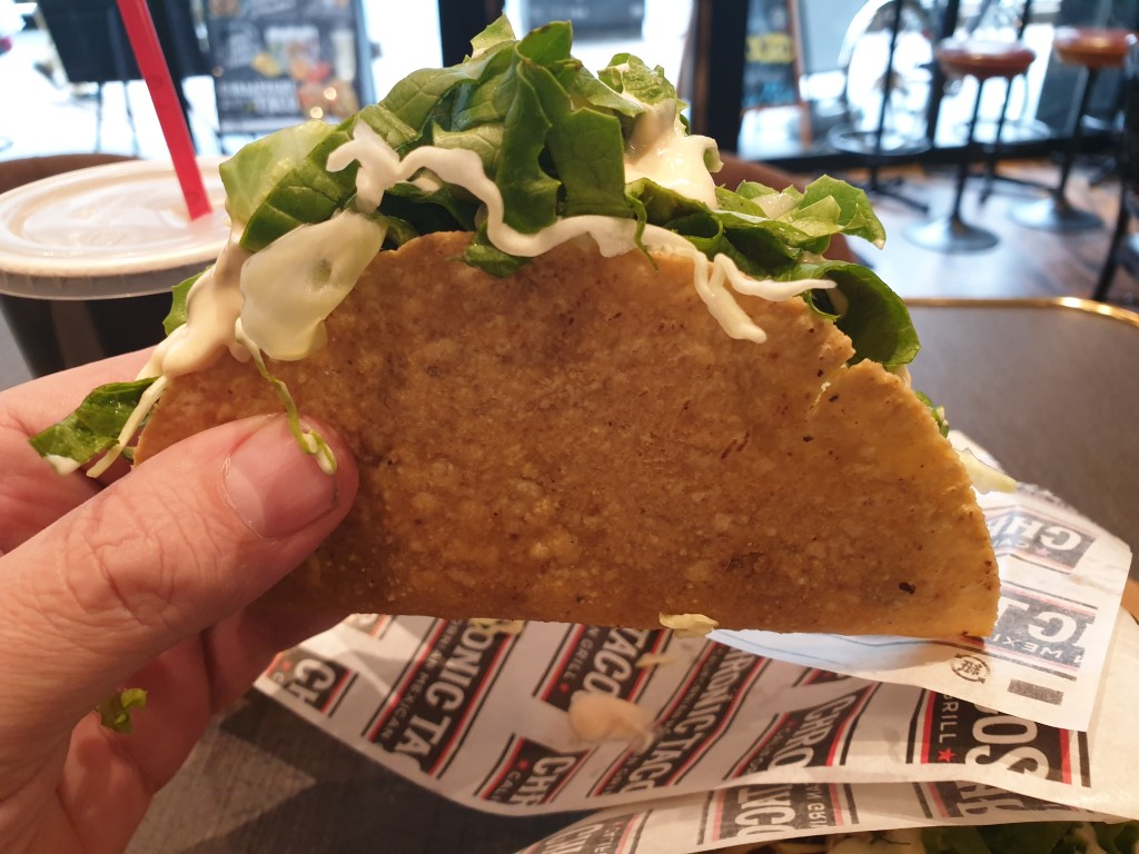 Hard Shell Taco at Chronic Tacos Ginza