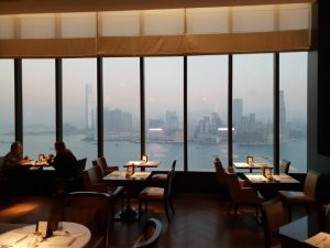 Awesome Views from Club Lounge at Grand Hyatt Hotel Hong Kong