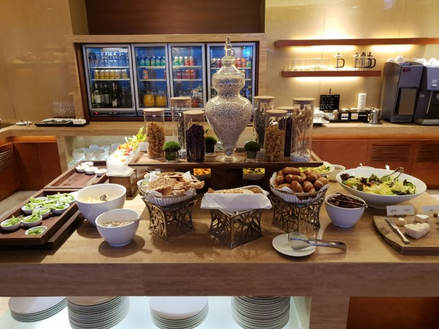 Buffet Breakfast in the Club Lounge of Hyatt Regency Hong Kong