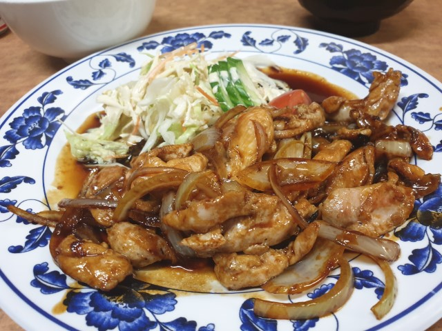 Chicken Teriyaki at Amimoto Japanese Restaurant Surfers Paradise