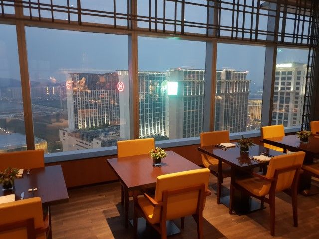 Club Lounge at the Grand Hyatt Macau