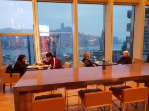 Club Lounge at Hyatt Regency Hong Kong Review