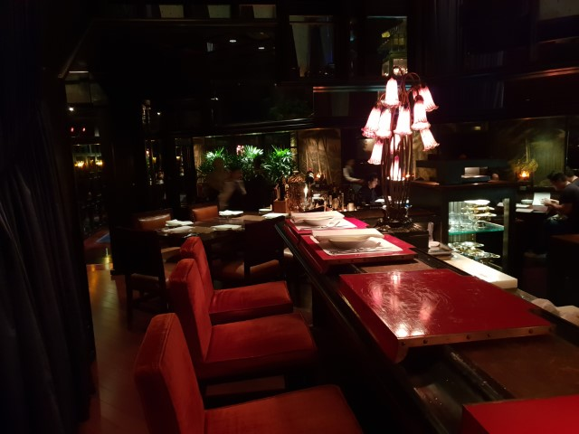 Dining at Grand Hyatt Steakhouse Hong Kong