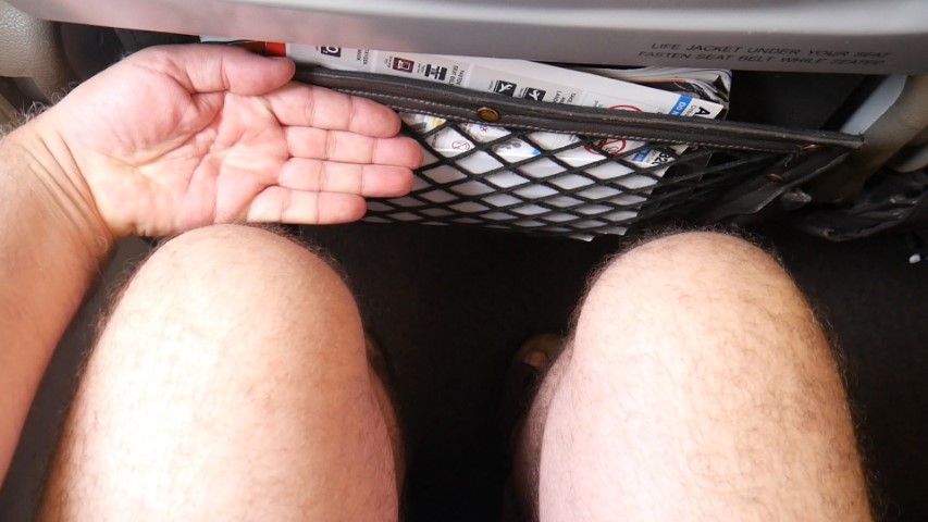 Good legroom on Jetstar Asia A320