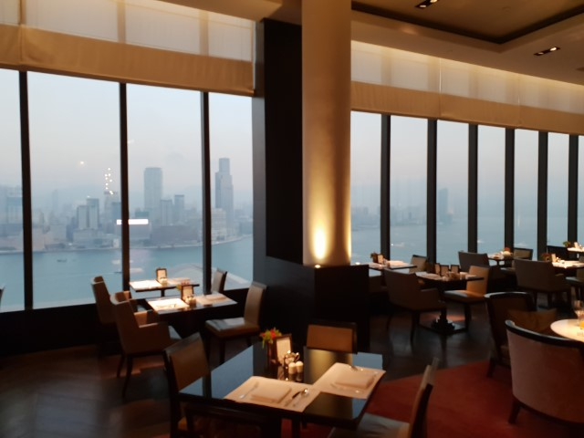 Inside the Grand Hyatt Hong Kong Club Lounge