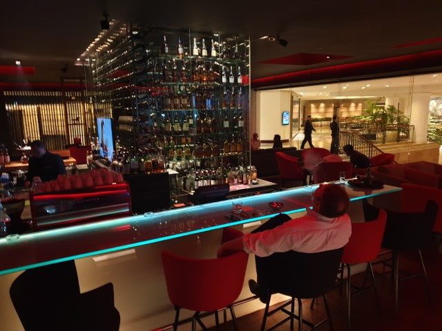 The Bar at Burgundy Bar Jakarta