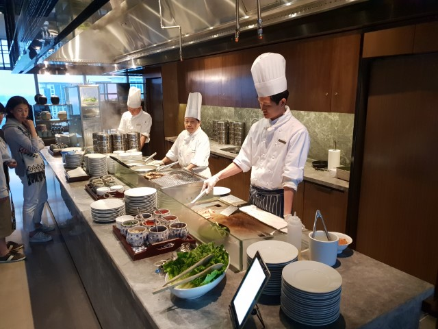 The Chefs at the Grand Hyatt Macau Club Lounge
