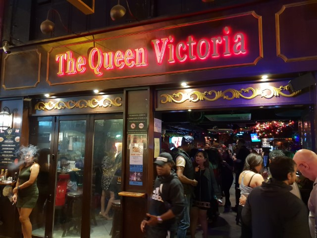 The Queen Victoria Pub in Wan Chai Hong Kong
