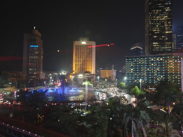 View from Burgundy Bar Jakarta