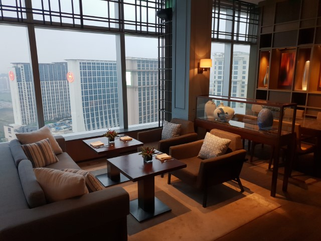 View from the Club Lounge Grand Hyatt Macau