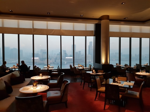 Views from Grand Club Lounge Hong Kong