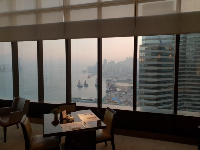 Views from Grand Hyatt Hong Kong