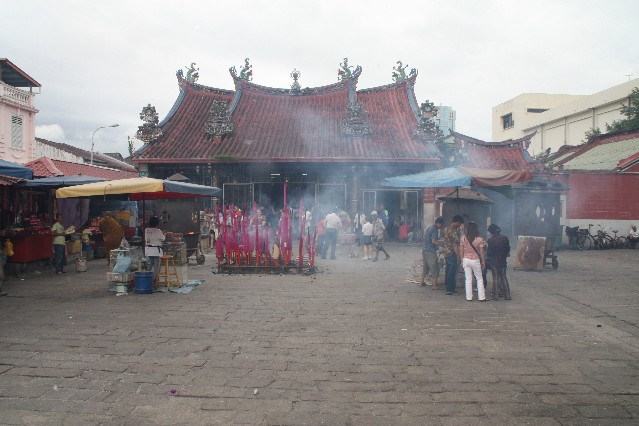 Goddess of Mercy Temple in Penang