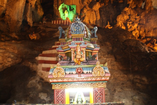 Hindu Shrine Inside Batu Caves