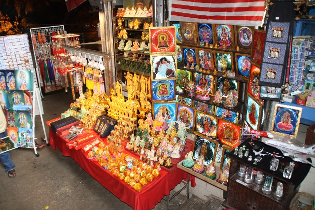 Indian Souvenirs at Batu Caves