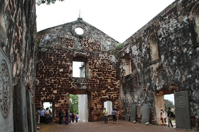 St Paul's Church Malacca