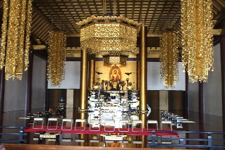Inside Zojoji Temple
