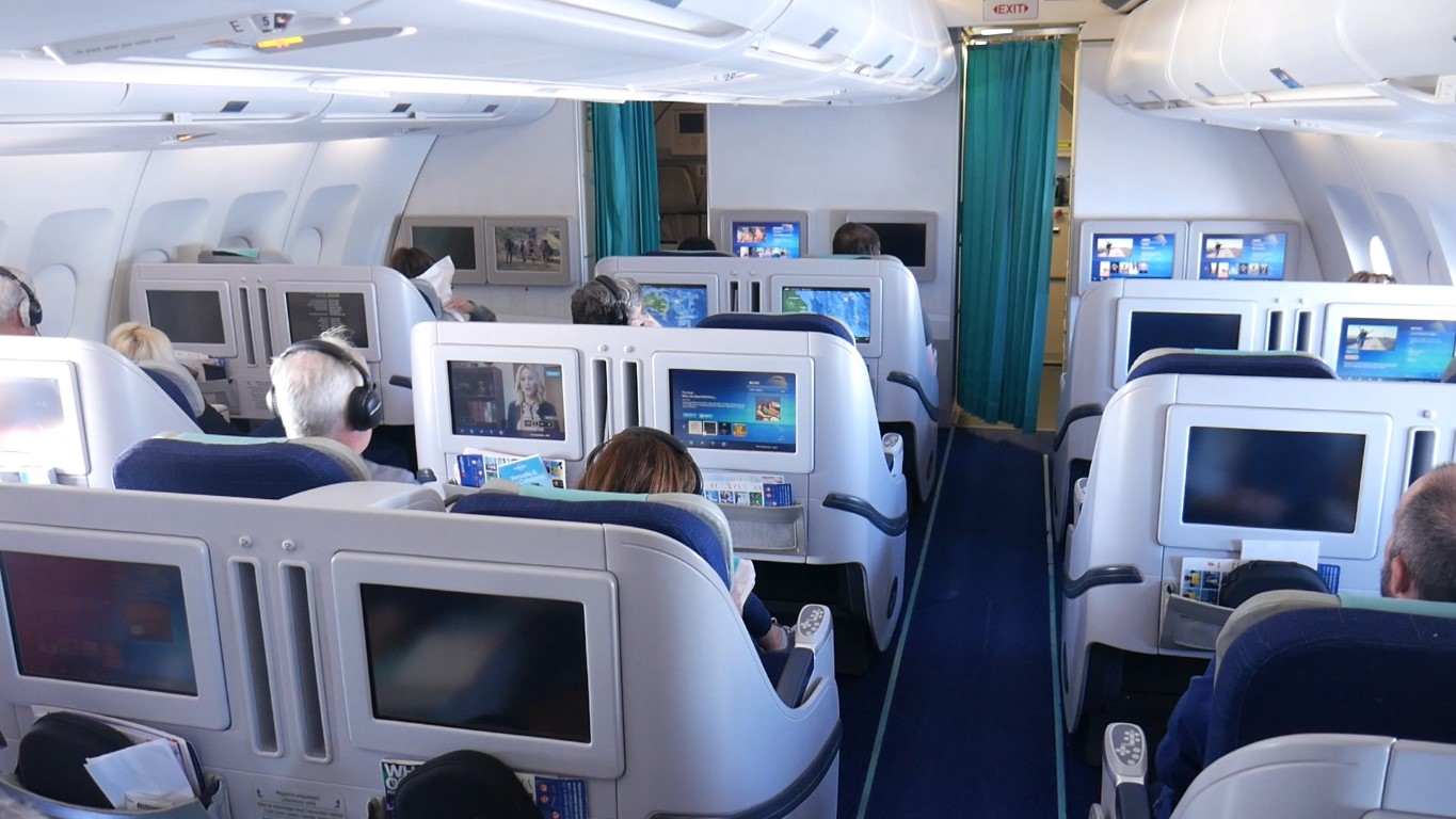 Aircalin Business Class seat configuration