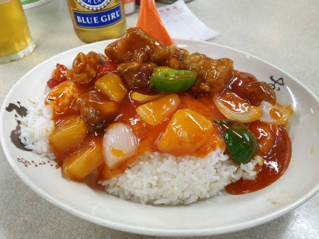 Sweet and Sour Spare Ribs at Lockhart Road Cooked Food Centre