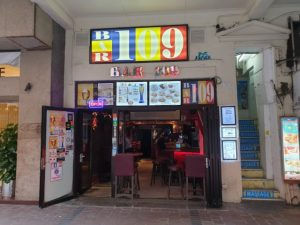 Bar 109 Sports Bar Wan Chai Hong Kong