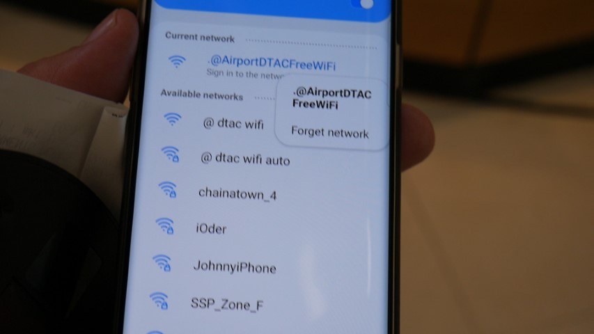 Free WiFi at Bangkok Suvarnabhumi Airport