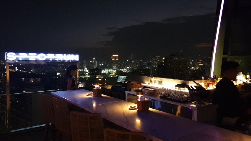 Spectrum Rooftop Bar Bangkok
