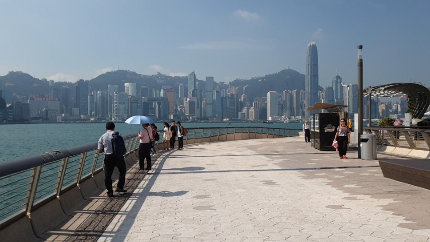 Avenue of the Stars promenade Hong Kong