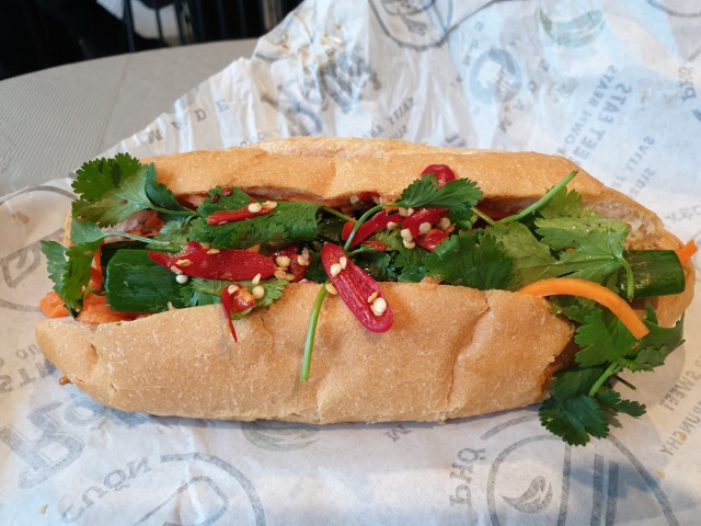 Banh Mi at Roll'd Vietnamese Westpac Place Sydney
