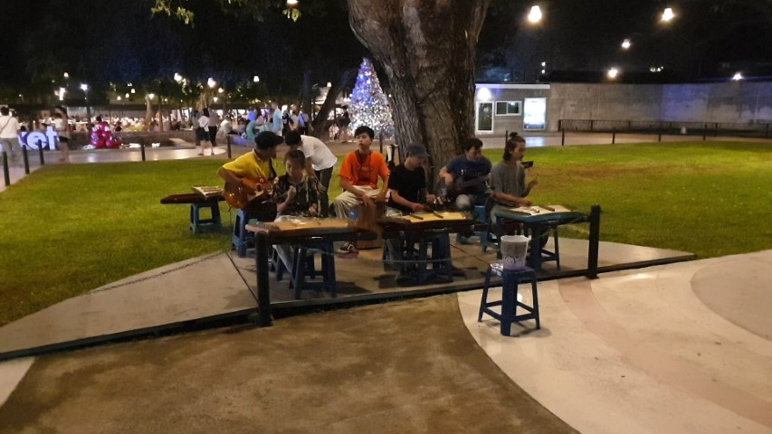 Live music at Cicada Night Market Hua Hin