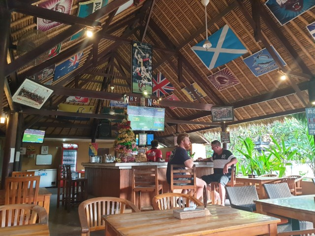 Sports Bars on Nusa Lembongan Island