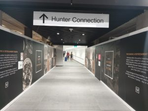 Space for retail shops at Hunter Connection Tunnel