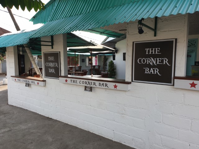 The Corner Bar Sports Bar on Nusa Lembongan