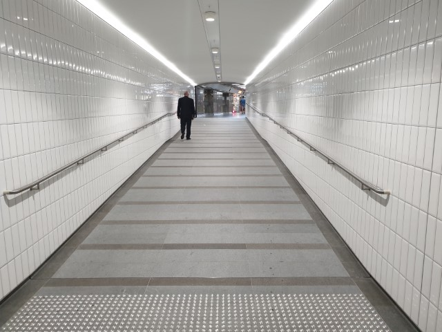 Tunnel from Wynyard Station to Hunter Connection