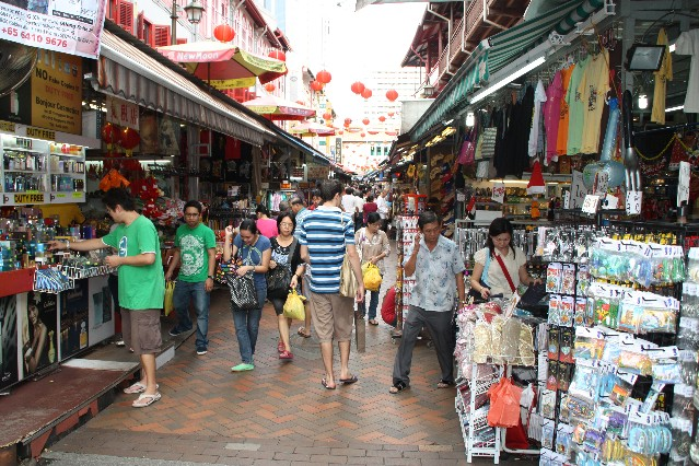 Chinatown Markets Singapore