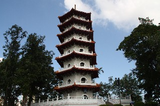 Pagoda at the Chinese Gardens Singapore