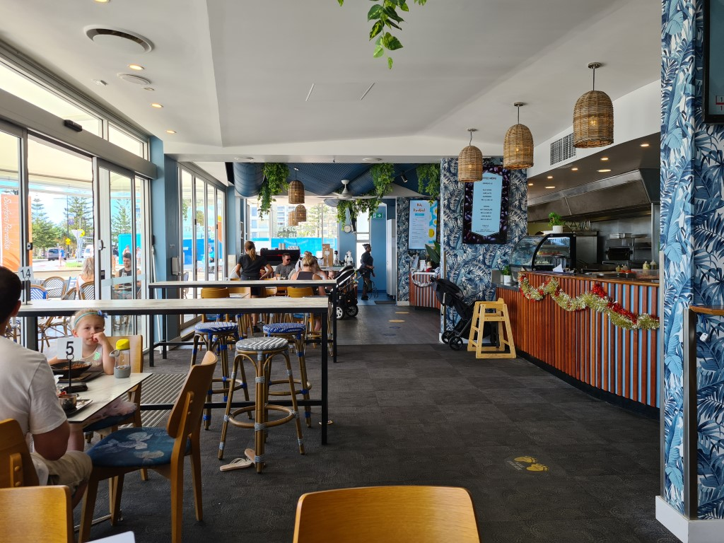 Inside the Surfers Paradise Surf Club
