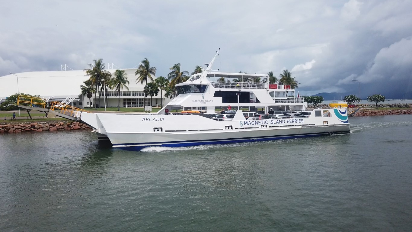 Car Ferry to Magnetic Island