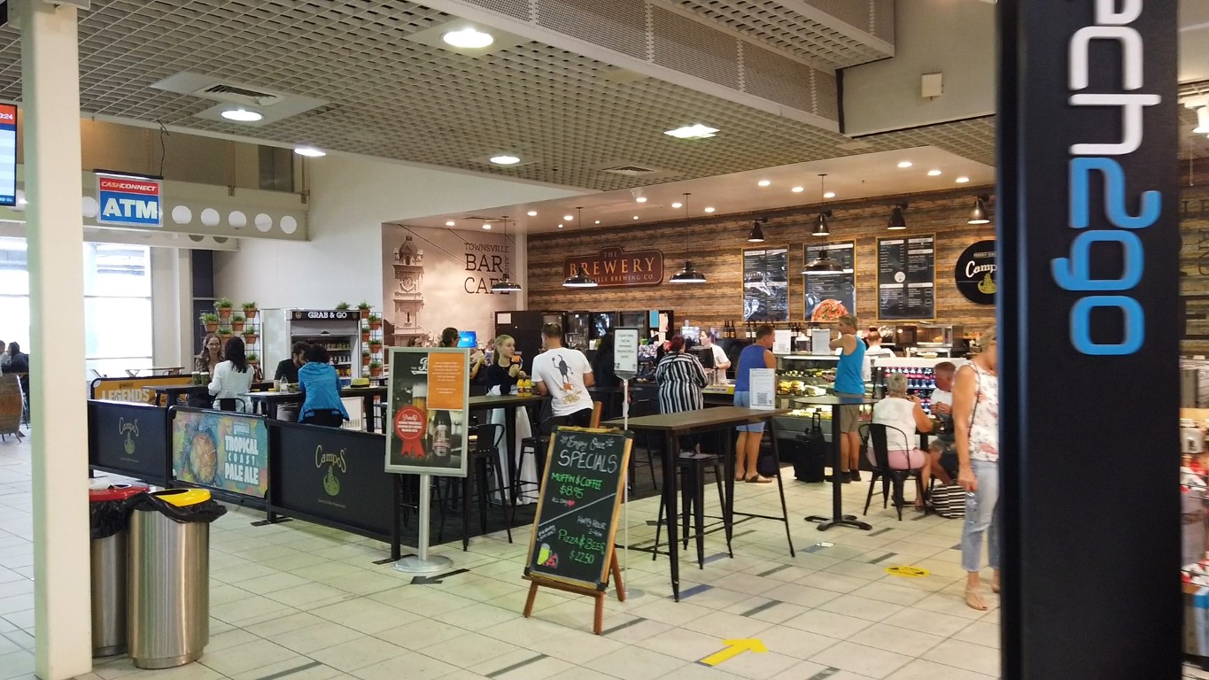 The Brewery at Townsville Airport