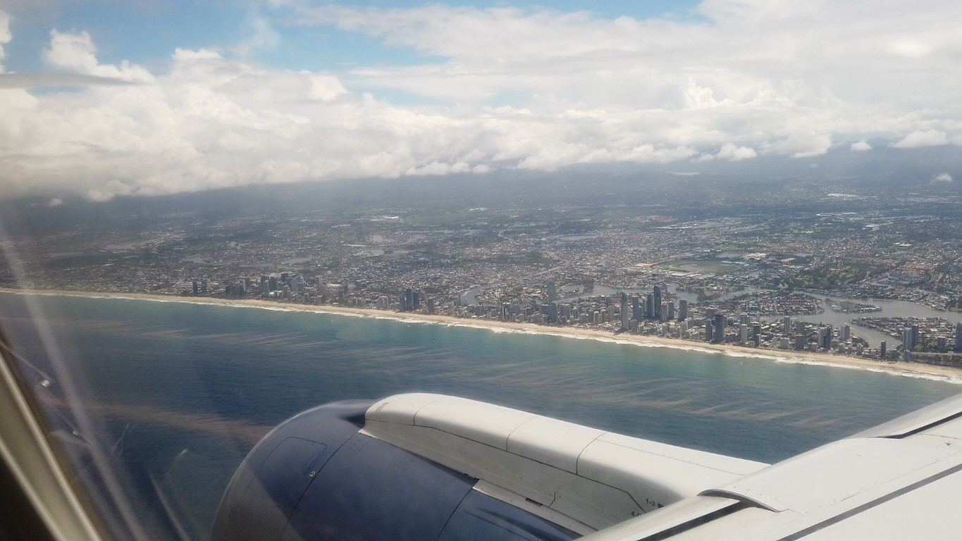 View of Surfers Paradise Gold Coast
