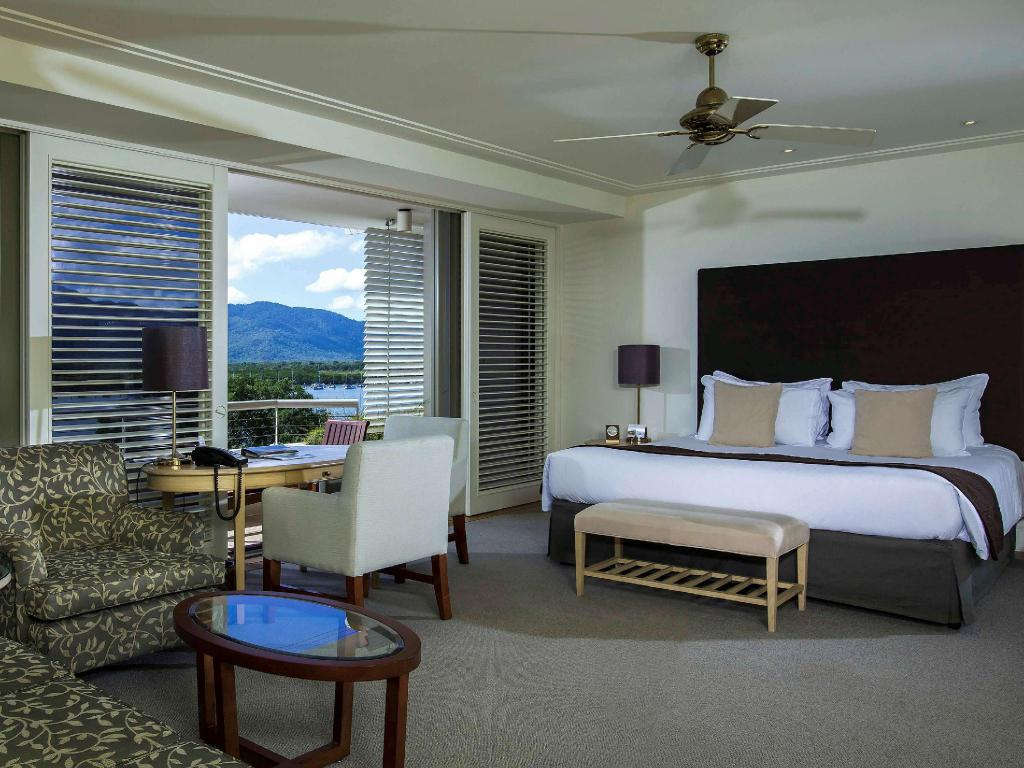 Junior Suite at the Pullman Reef Casino Hotel Cairns