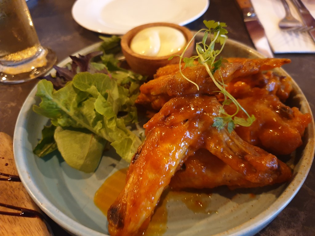 Spicy Buffalo Wings at Meat and Co
