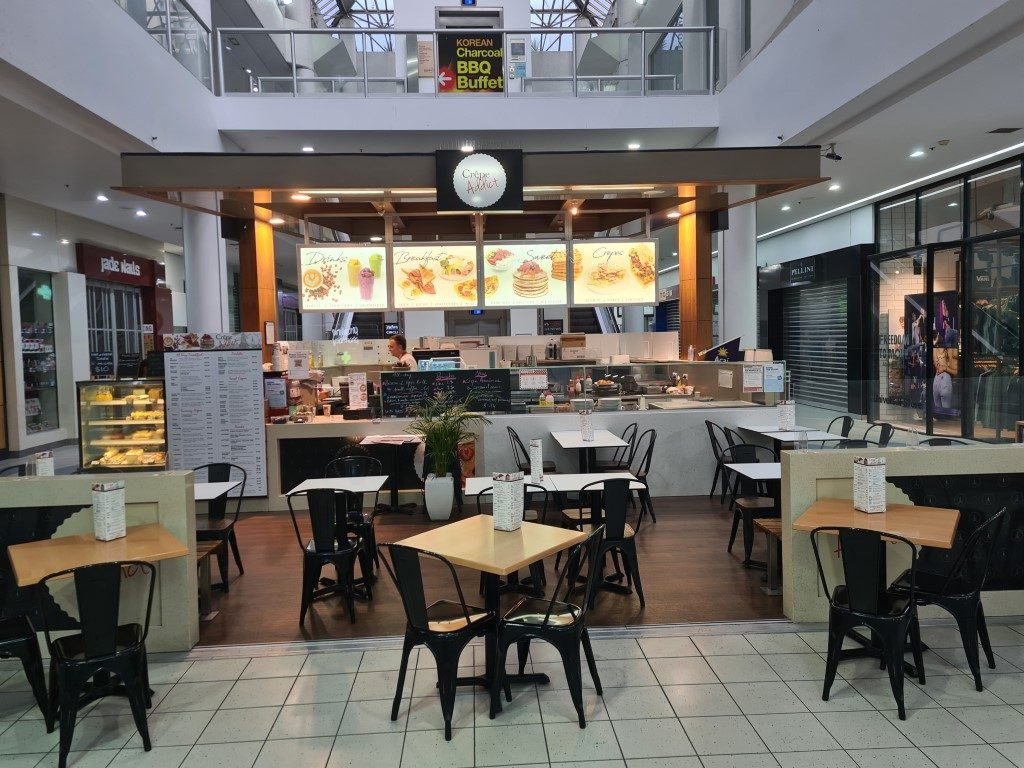 Awesome Breakfast Cafe - Crepe Addict in Surfers Paradise