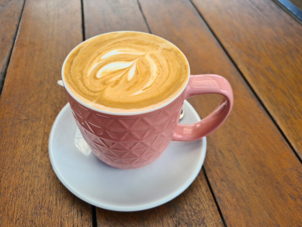 Great Coffee at Wharf One Cafe Cairns