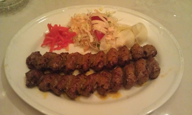 Grilled meat at Aladdin Iranian Restaurant Tokyo