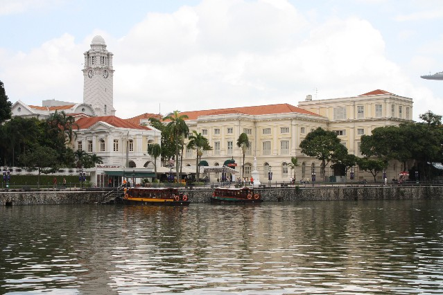 The view from Lanna Thai at Boat Quay Singapore