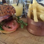 American Old Faithful Burger at the Meat District Co Sydney